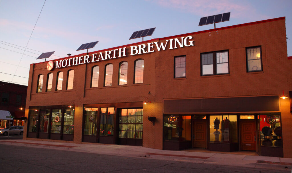 LEED Certified Breweries – Mother Earth Brewery in Kinston, North Carolina