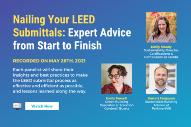 nailing your leed submittals expert sustainability advice for leed coversheets