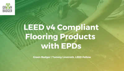 LEED v4 Compliant Flooring Products with EPDs