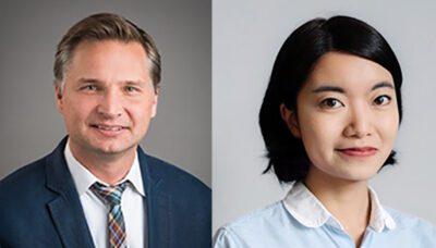 Dave Hubka and Jing Hong from Rivion, LEED construction with Green Badger