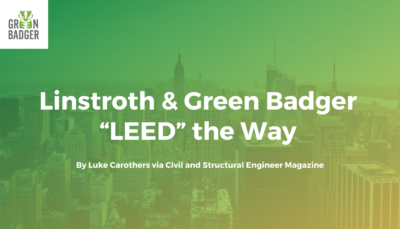 Linstroth & Green Badger LEED the Way