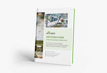 LEED Product Guide Download Green Badger LEED v4