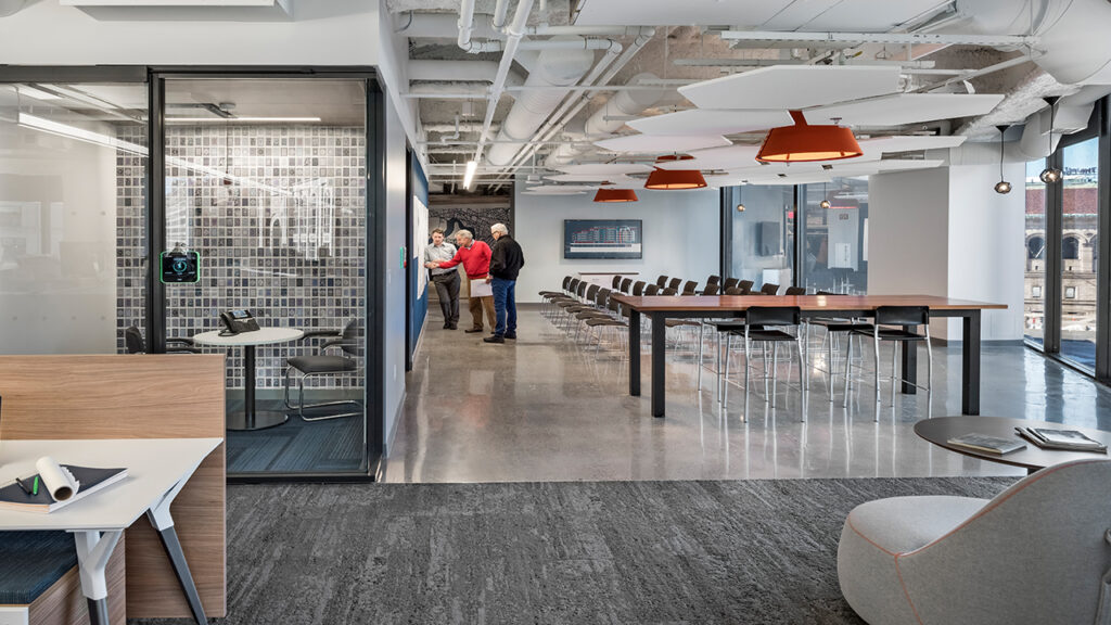 office interiors jacobs engineering green badger ccase study
