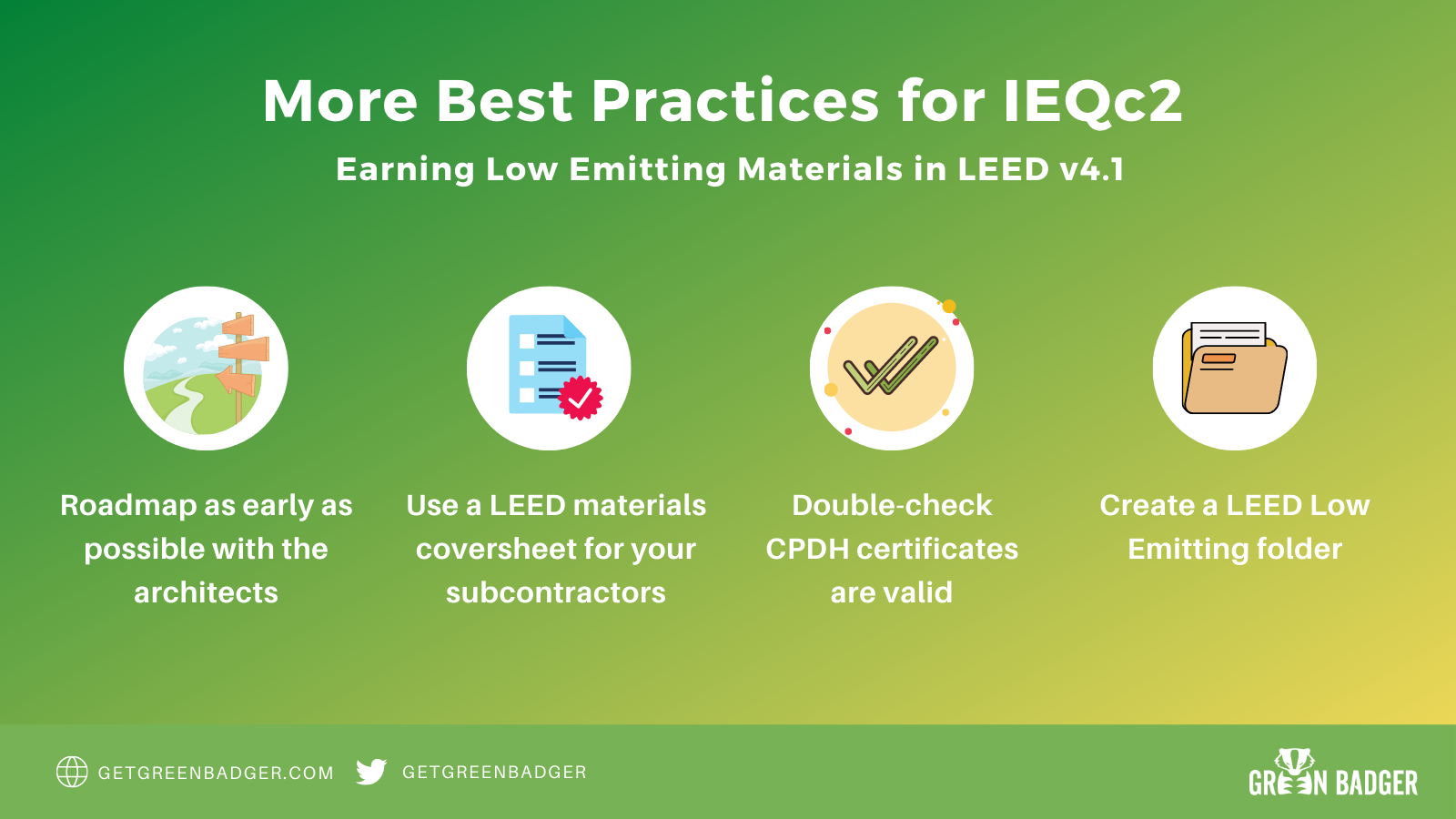 ultimate guide to leed v4.1 best practices for ieqc2