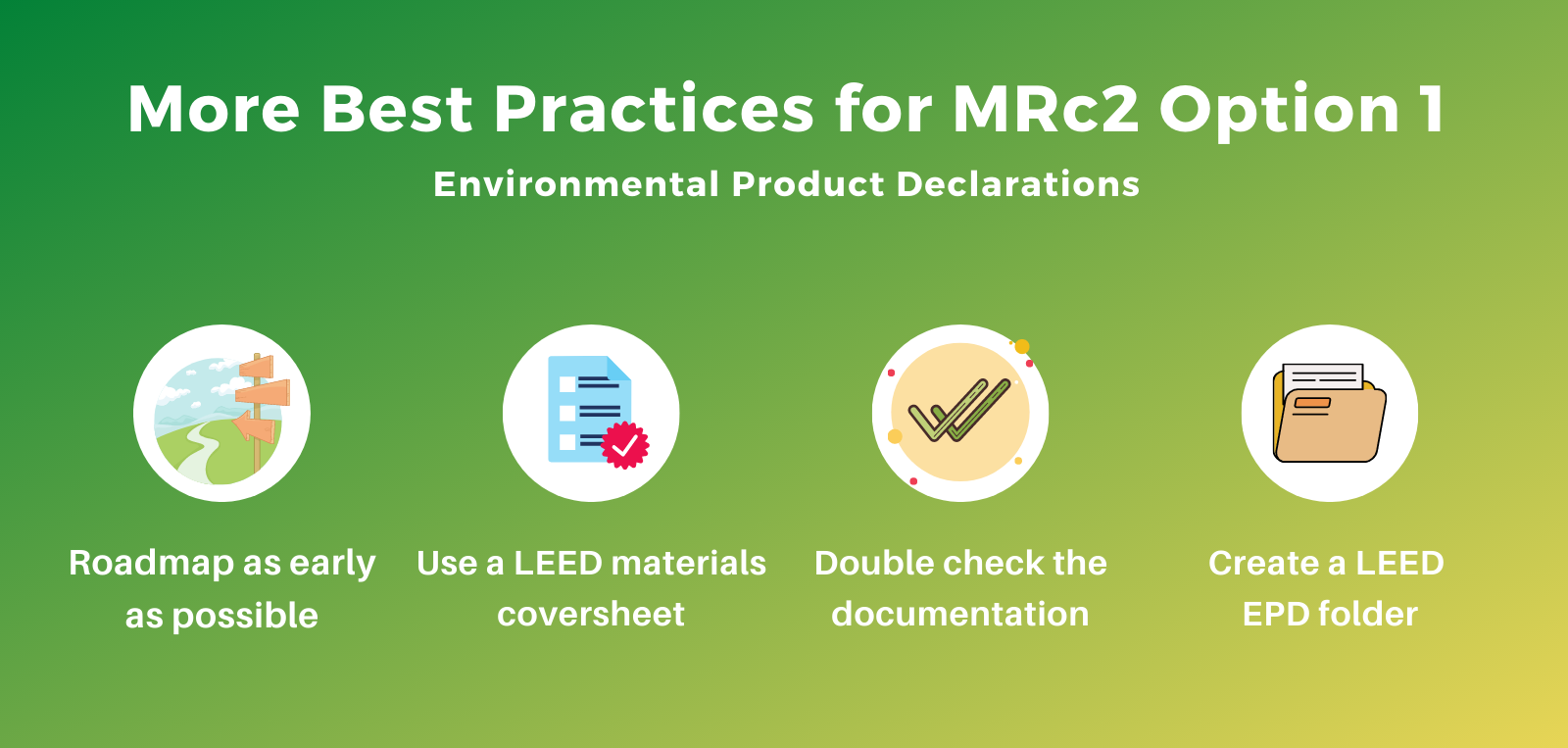 MRc2 LEED v4 Best Practices EPDs Environmental Product Declarations