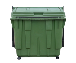 Construction waste management roll-off dumpster leed v4