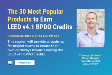The 30 Most Popular Products to Earn v4.1 BPDO Credits