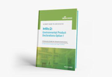 Earning MRc2 Option 1 Environmental Product Declarations in LEED v4.1